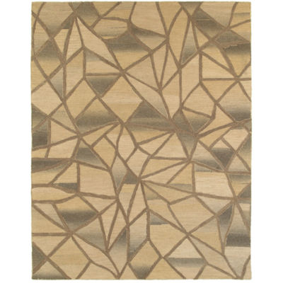 Integrity Modern Abstract Rectangular Rug