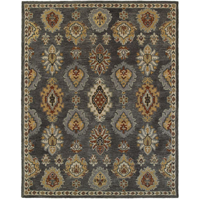 Integrity Traditional Ikat Rectangular Rug