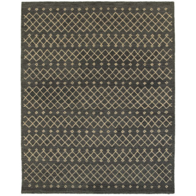 Integrity Modern Striped Diamond Rectangular Rug