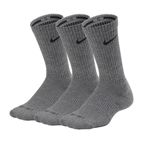 Nike 3 Pair Crew Socks-Mens