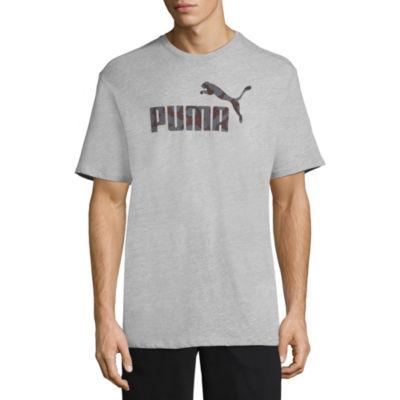 Puma Camo Logo Graphic Tee