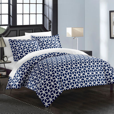 Chic Home Elizabeth Complete Duvet Cover Set with Sheets Collection