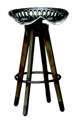 Swivel Antique Tractor Seat Barstool