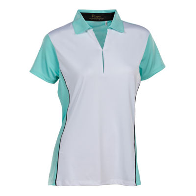 Nancy Lopez Golf Bee Short Sleeve Polo