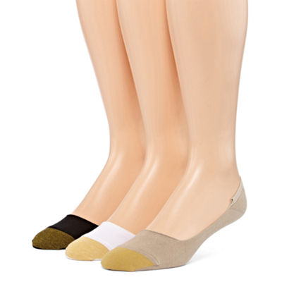 Gold Toe 3 Pair No Show Socks-Mens