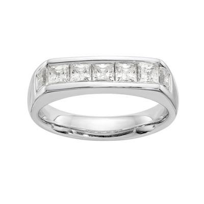 Womens 7/8 CT. T.W. White Diamond 14K Gold Wedding Band