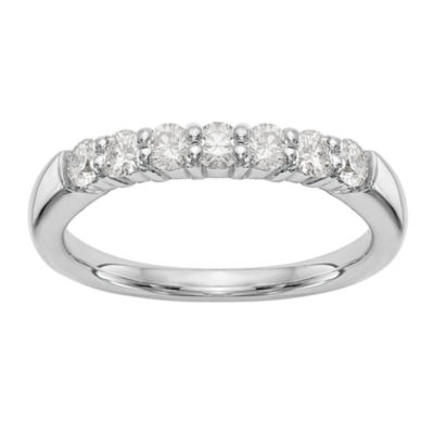 Womens 1 1/5 CT. T.W. White Diamond 14K Gold Wedding Band