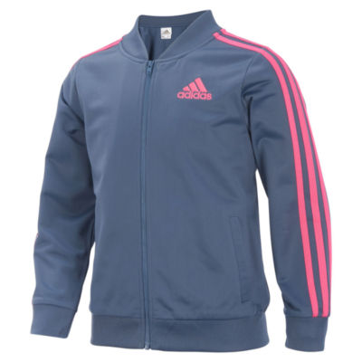 adidas Girls Lightweight Bomber Jacket - Big Kid