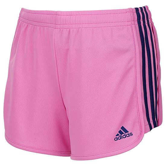 Adidas Girls Pull On Short Preschool Big Kid
