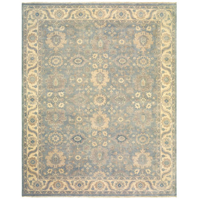 Kanika Traditional Damask Rectangular Rug