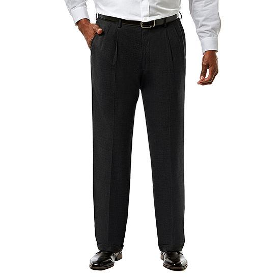 6676195549c JM Haggar Premium Stretch Sharkskin Classic Fit Pleated Suit Pants - Big    Tall - JCPenney