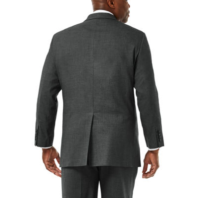 JM Haggar Premium Stretch Sharkskin Classic Fit Suit Jacket - Big & Tall