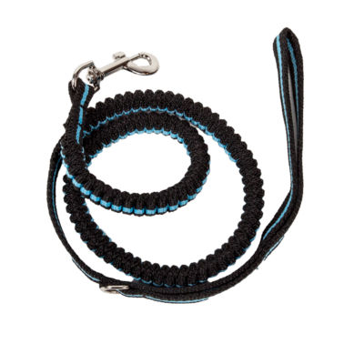 Pet Life Rectract-A-Wag Shock Absorption StitchedDurable Dog Leash