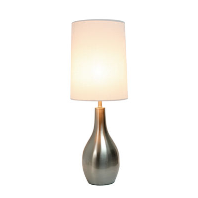 Simple Designs 1 Light Tear Drop Table Lamp
