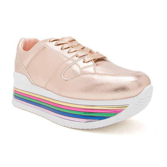 Qupid Tampa 01  Lace-up Womens Sneakers