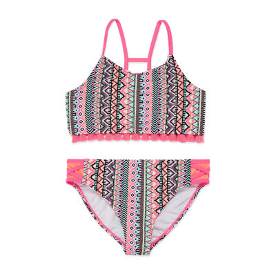 Arizona Mosaic Stripe Bikini - Girls 4-16