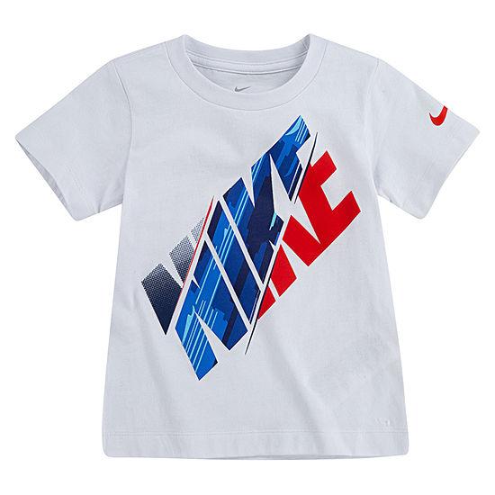 Nike Boys Crew Neck Short Sleeve Graphic T-Shirt - Preschool