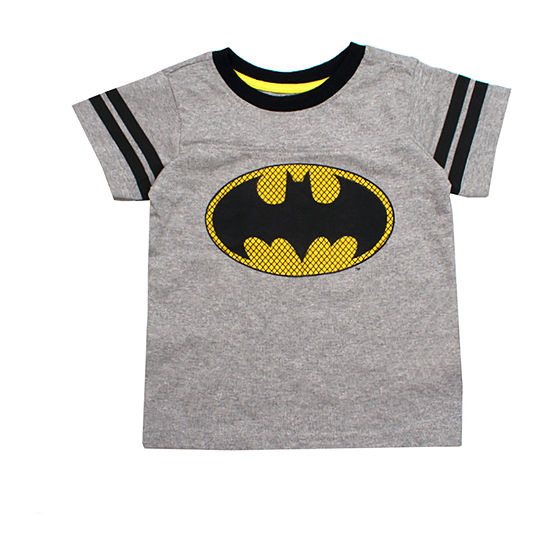 Boys Crew Neck Short Sleeve Batman Graphic T Shirt Toddler