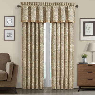 Queen Street Santorina Rod-Pocket Curtain Panel