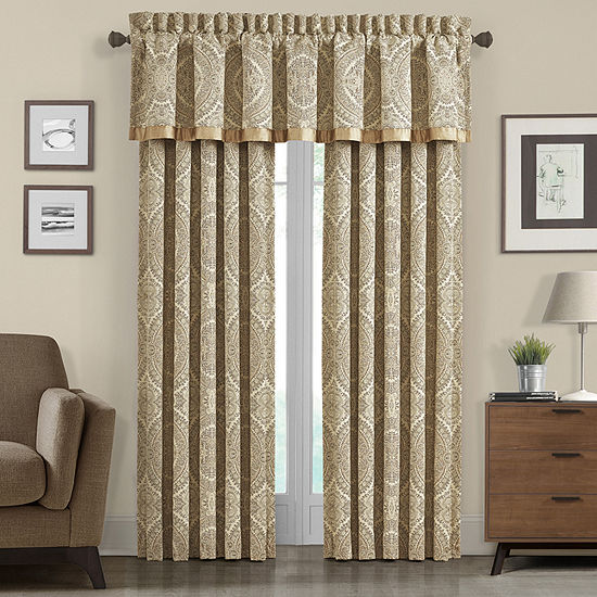 Queen Street Santorina Rod-Pocket Curtain Panel