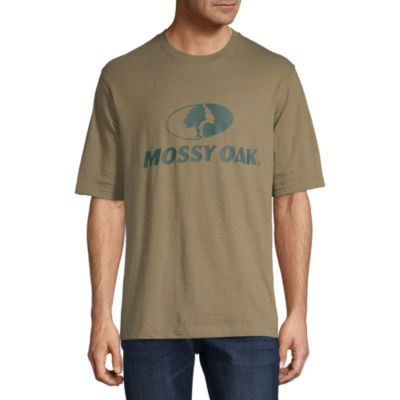 Mossy Oak Mens Crew Neck Short Sleeve T-Shirt