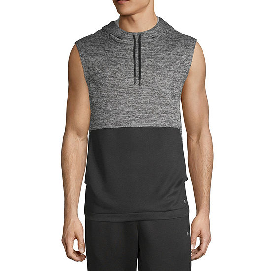 Xersion Mens Sleeveless Hoodie