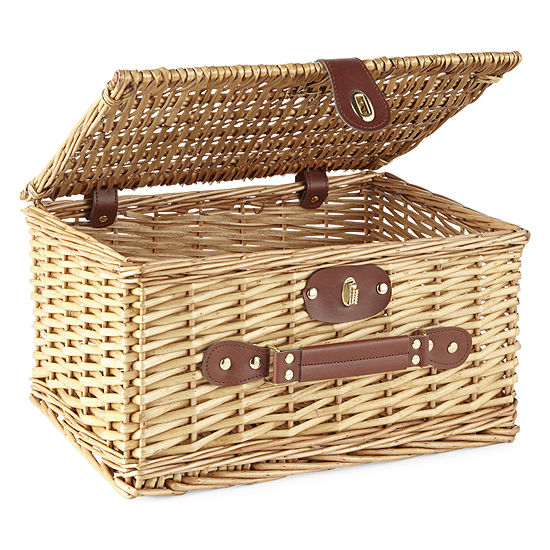 Peyton Parker Nested Cattail Picnic Basket