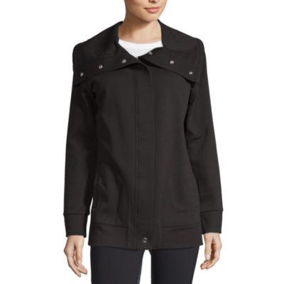 Liz Claiborne Weekend Knit Lightweight Softshell Jacket