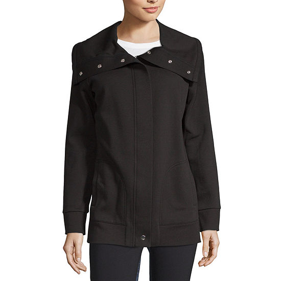 Liz Claiborne Weekend Knit Lightweight Softshell Jacket