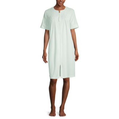 Collette By Miss Elaine Womens Nightgown Short Sleeve