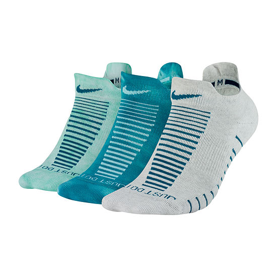 Nike Everyday Max Cushion Gfx 3 Pair Low Cut Socks - Womens