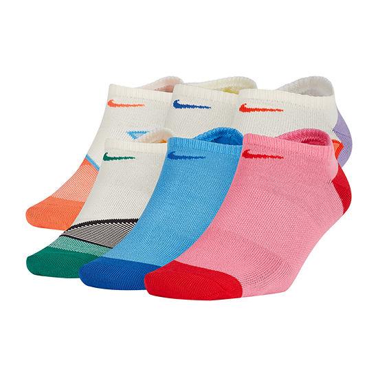 Nike 6 Pair No Show Socks - Womens