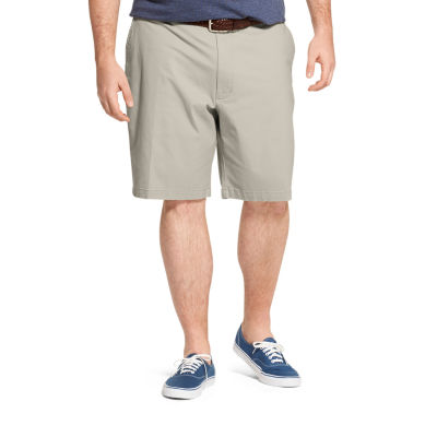 IZOD Saltwater Mens Stretch Chino Short-Big and Tall