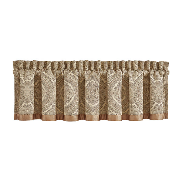 Queen Street Santorina Rod-Pocket Straight Valance