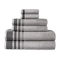 Home Expressions Solid or Stripe Bath Towel Collection Deals