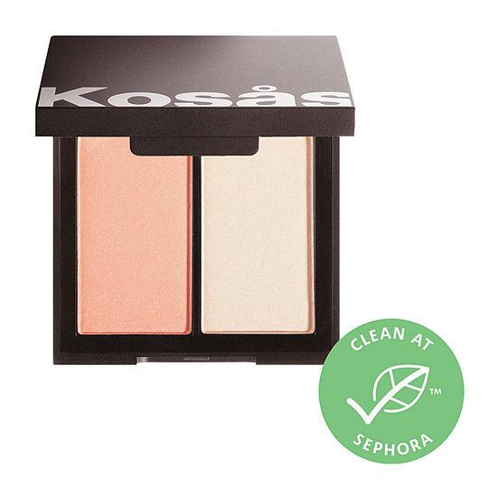 KOSAS Color & Light: Pressed Powder Blush & Highlighter Duo