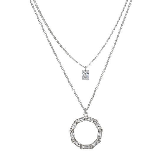Mixit 16 Inch Link Round Chain Necklace