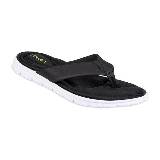 Xersion® Footbed Momory Foam Flip Flops