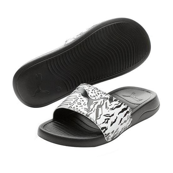 Puma Womens Popcat Slide Sandals