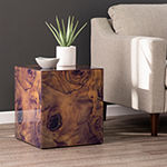 Southern Enterprises Tierrest End Table