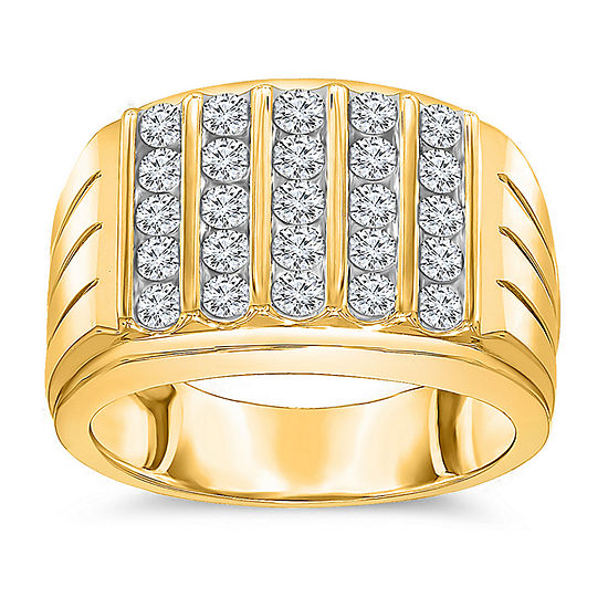 Men's Genuine Diamond Ring 1 1/2 CT. T.W.