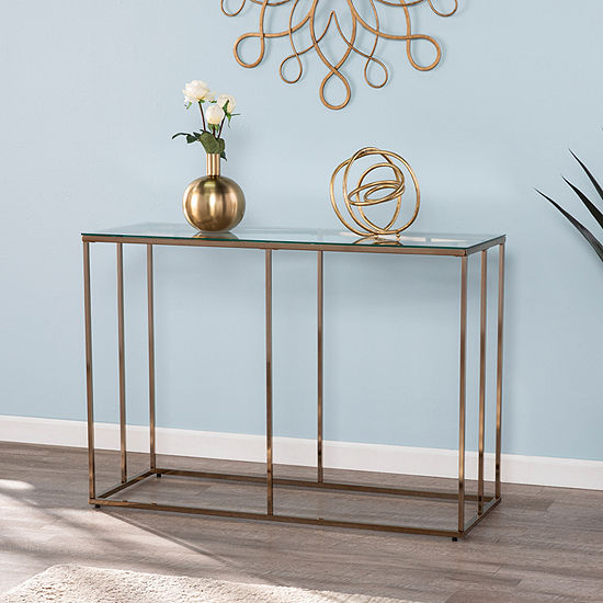 Southern Enterprises Plegi Console Table