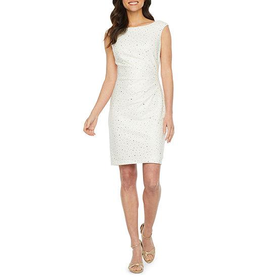 Jessica Howard Sleeveless Sheath Dress