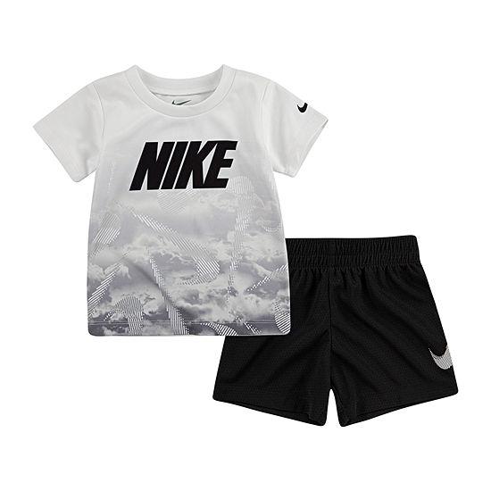 Nike Boys 2-pc. Short Set Baby