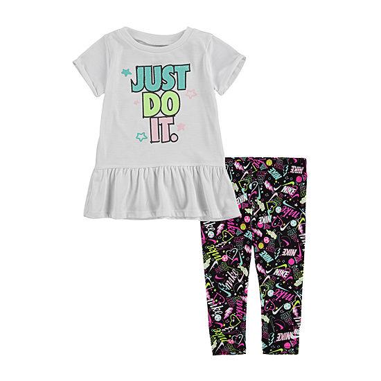 Nike-Baby Girls 2-pc. Legging Set