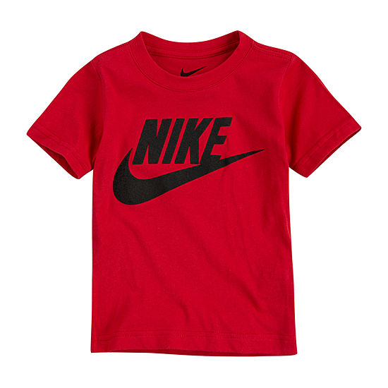 Nike Boys Round Neck Short Sleeve Graphic T-Shirt-Toddler