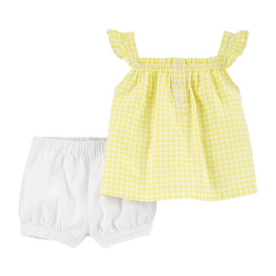 Carter's Baby Girls 2-pc. Short Set