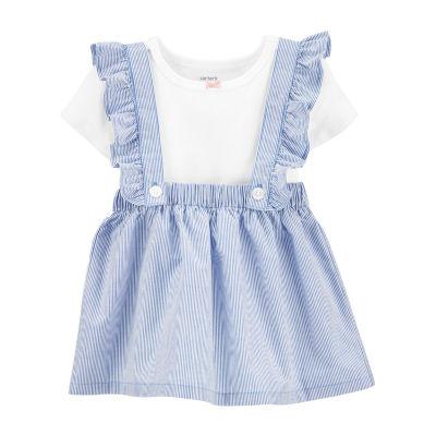 Carter's Baby Girls 2-pc. Short Sleeve A-Line Dress