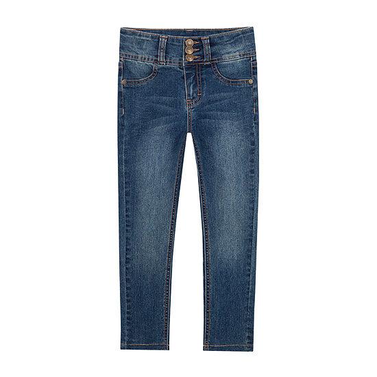 Lee Little Kid Girls High Rise Skinny Fit Jean