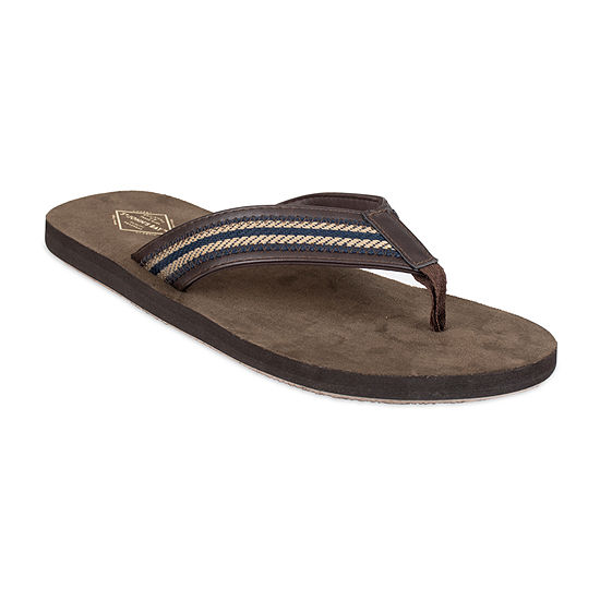 St. John's Bay™ Two Tone Stitched Strap Flip Flops